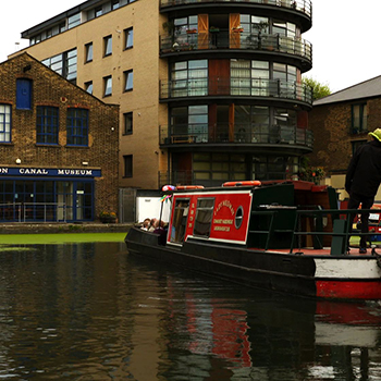 Volunteering at the London Canal Museum